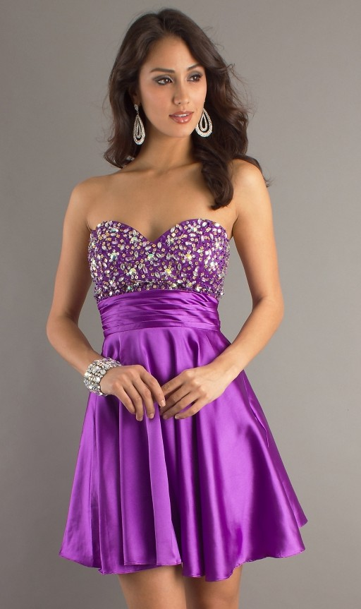 Purple Occasion Dress: Junior Purple Bridesmaid Dresses Are Worth ...